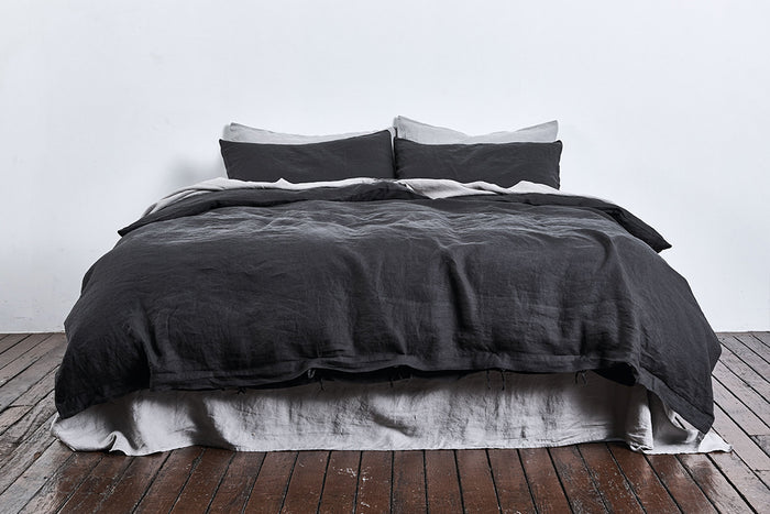 In Bed Linen Sheets Duvet Cover Kohl