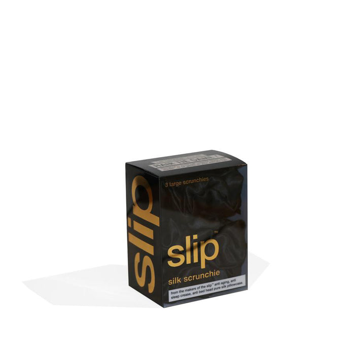 Slip Scrunchies - Black - Available to purchase in store only