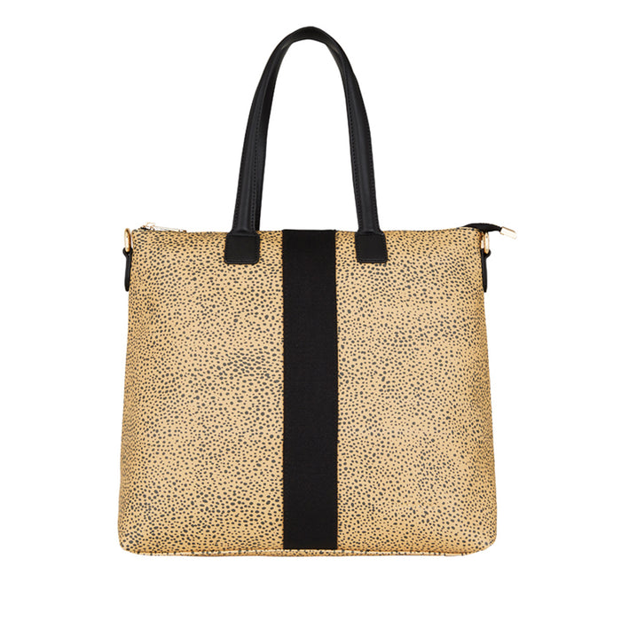 Elms & King - Lexington Zip Tote - Cheetah