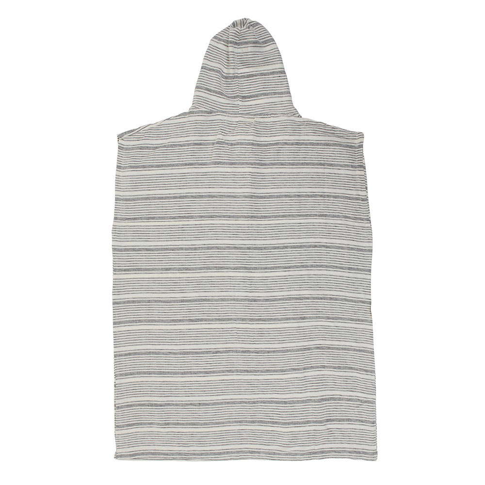 Mayde - Eco Poncho - White