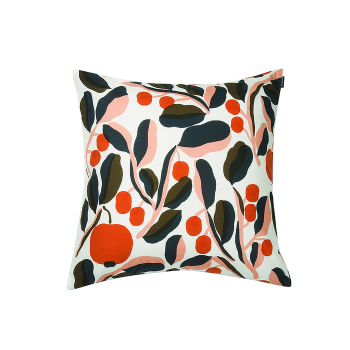 Marimekko - Jaspi Cushion Cover 50x50cm - White, Red & Blue