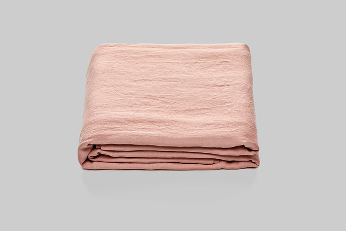 In Bed Linen Fitted Sheet Musk Queen Size