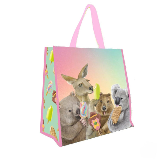 La La Land - Market Bag - Ice Cream Critters