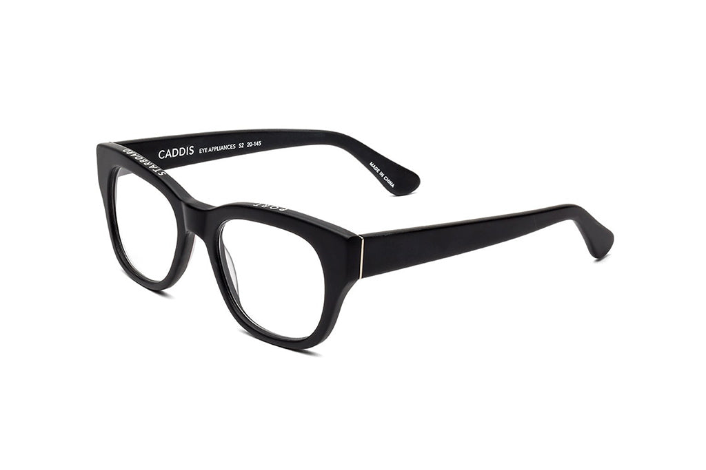 Caddis Miklos Matte Black reading glasses