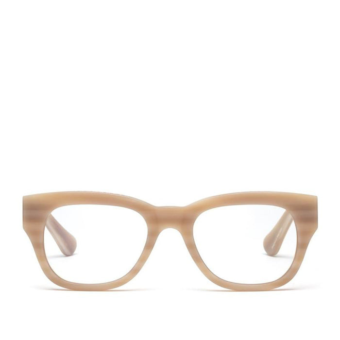 Caddis Miklos Matte Bone reading glasses
