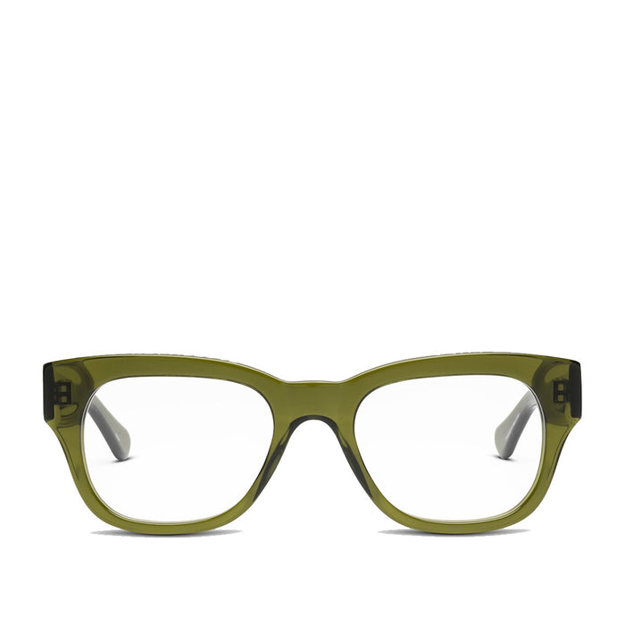 Caddis Miklos Heritage Green reading glasses