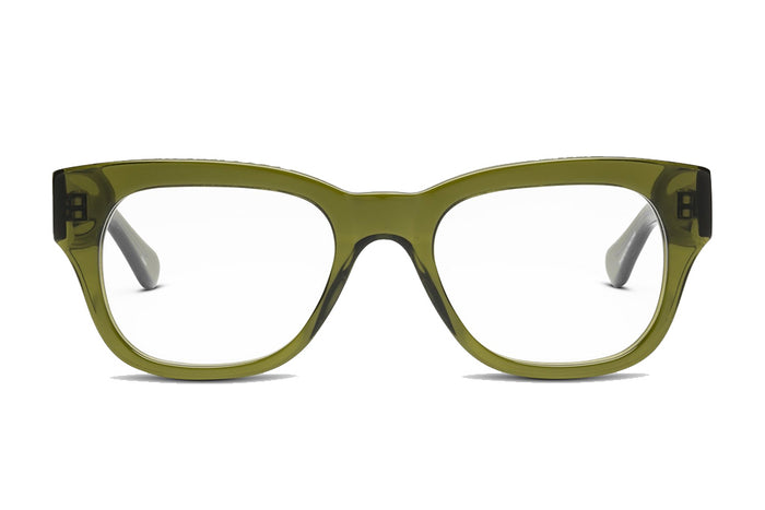 CADDIS - Miklos Reading Glasses - Heritage Green