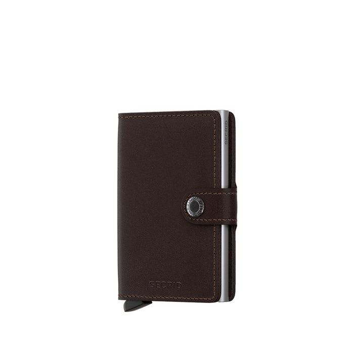 Secrid - Miniwallet - Dark Brown