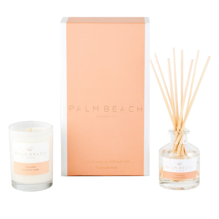 Palm Beach Collection - Mini Candle & Diffuser Pack - Watermelon