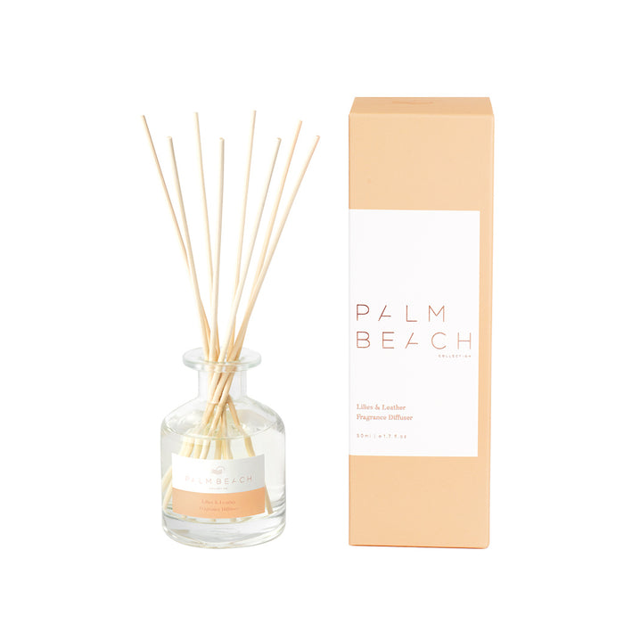 Palm Beach Collection - Mini Diffuser - Lilies & Leather