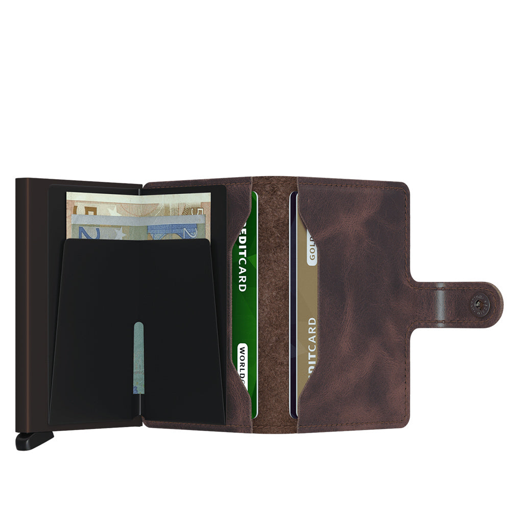 Secrid - Miniwallet - Vintage Chocolate