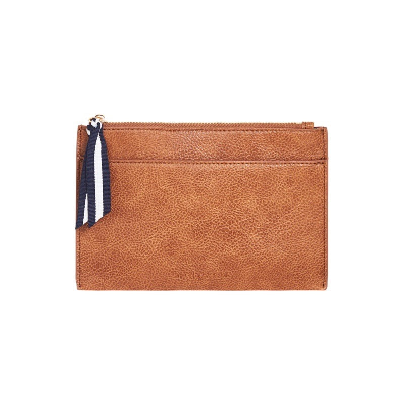Elms & King - New York  Coin Purse - Tan Pebble