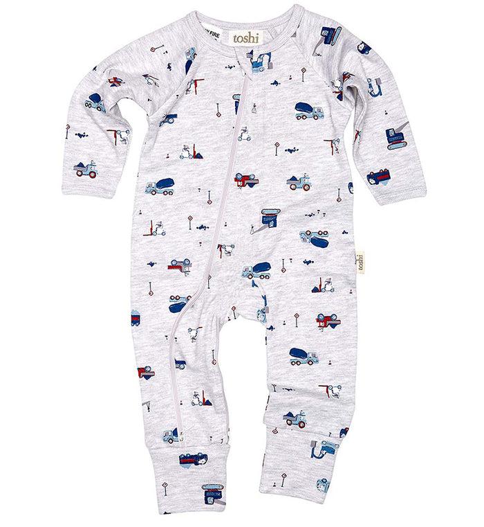 Toshi - Long Sleeve Onesie - Boys Toys