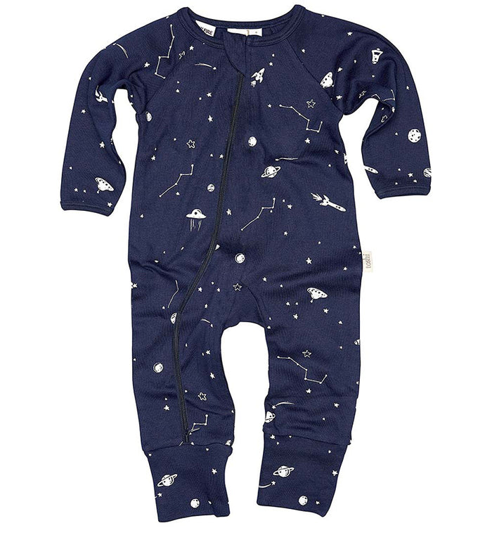 Toshi - Long Sleeve Onesie - Intergalactic