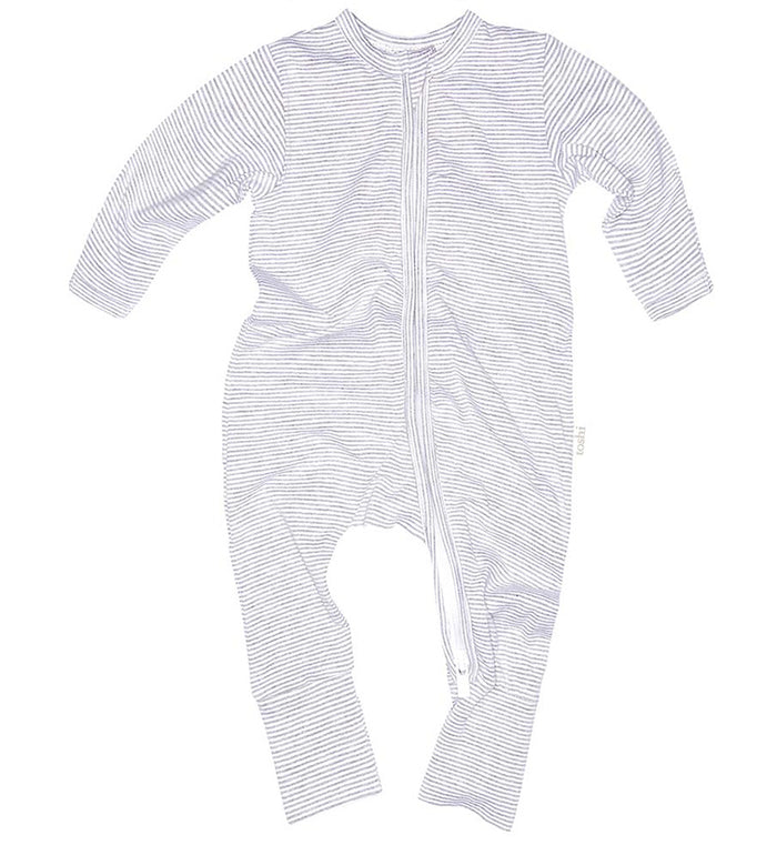 Toshi -Sleepytime Long Sleeve Onesie - Dove