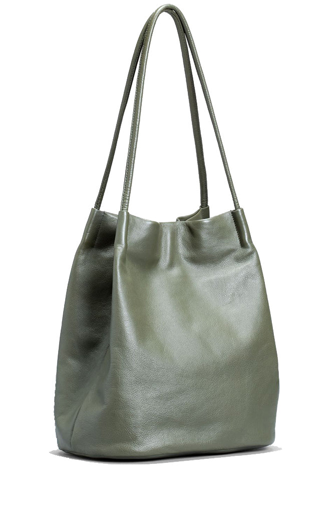 Elk the label - leather accessories - Orsa bag Loden Green