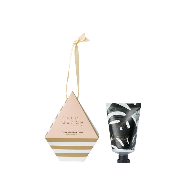 Palm Beach Collection - Christmas Hanging Bauble - Prosecco Rosé