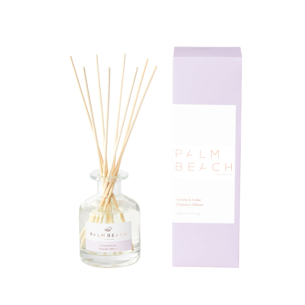 Palm Beach Collection - Mini Diffuser - Jasmine & Cedar