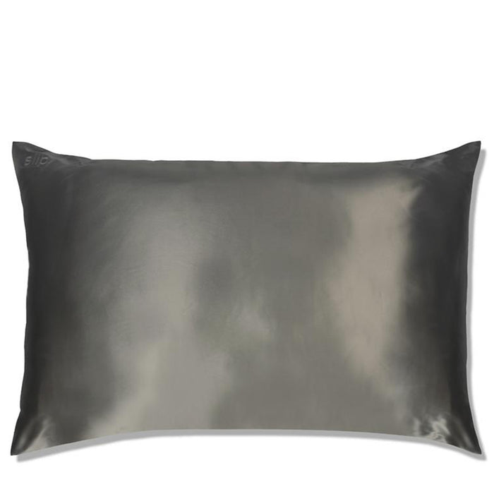 Slip Pillowcase - Queen - Charcoal - Available to purchase in store only