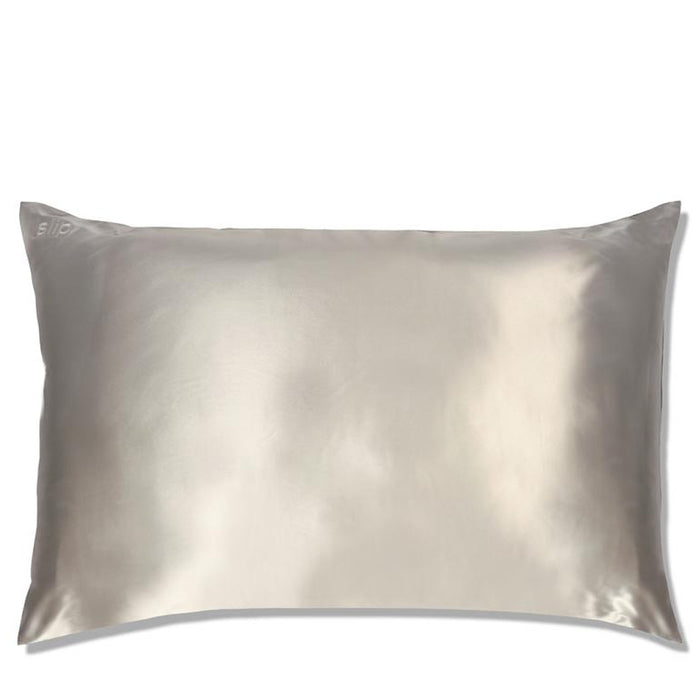 Slip Pillowcase - Queen - Silver - Available to purchase in store only