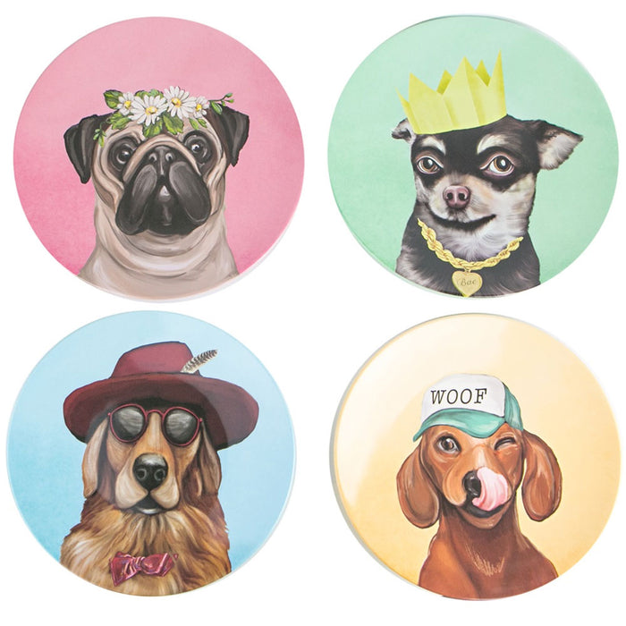 La La Land - Plate Set - Canine Cuties