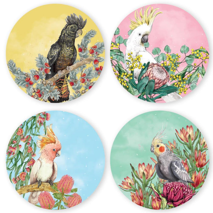 La La Land - Plate Set - Cockatoos of Australia