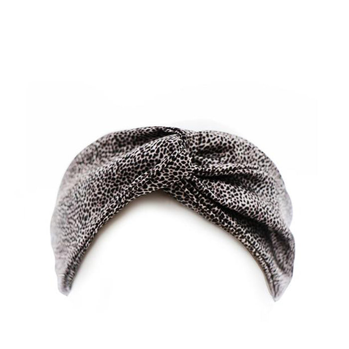 Slip Twist Headband - Leopard - Available to purchase in store only