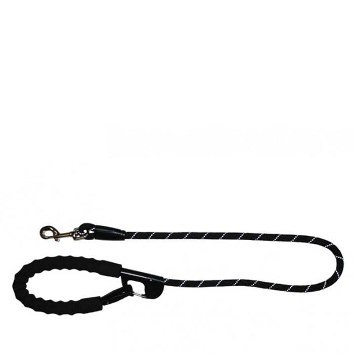 Annabel Trends - Hot Dog Snap & Stay Leash - Black