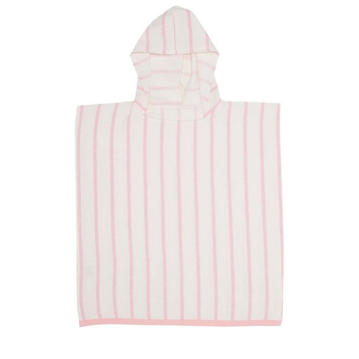 Mayde - Tots Pebbly Poncho - Dusty Pink