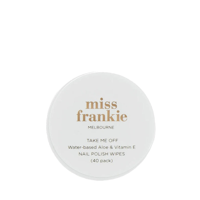 Miss Frankie - Take Me Off Remover Wipes