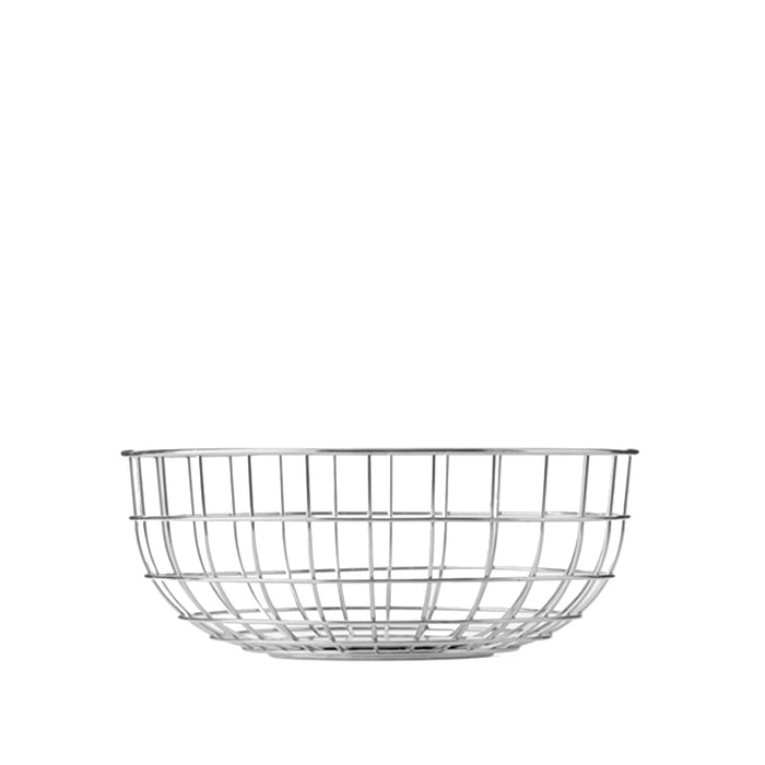 Menu - Norm Wire Bowl - Chrome