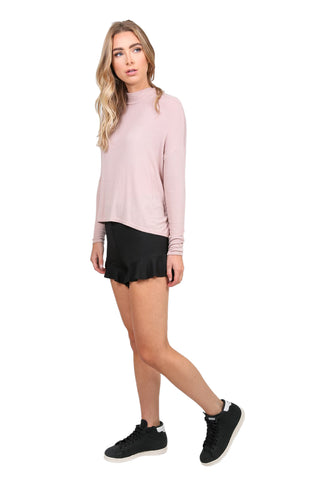 Mock Neck Dolman L/S