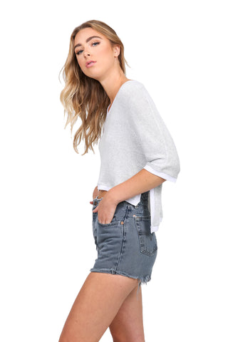 Rodeo Side Slit Tee