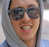 guy with grillz hip hop jewelry gold grillz gold teeth grillz hip hop grillz gold plated grillz set