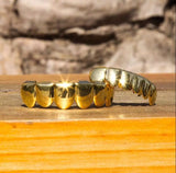 hip hop jewelry gold grillz gold teeth grillz hip hop grillz gold plated grillz set