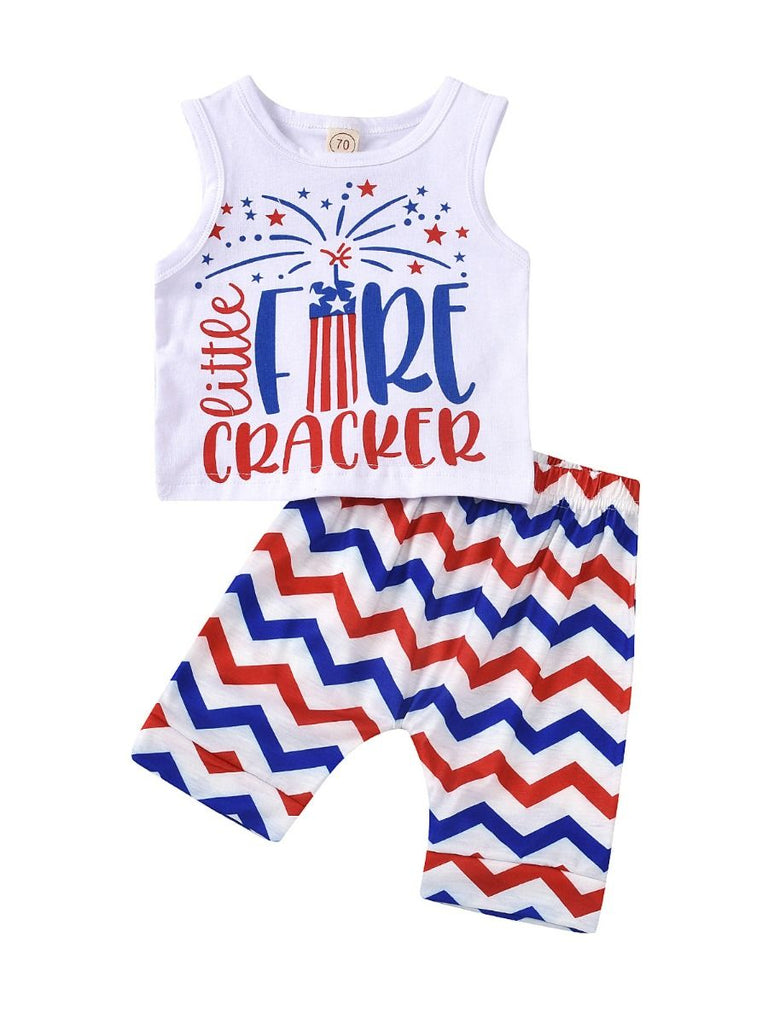 2-Piece Little Firecracker Set