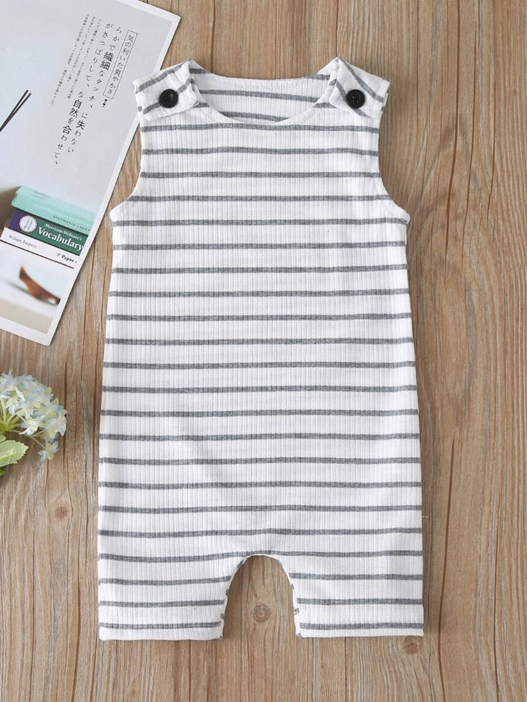 Modern Ribbed Tank Jumpsuit