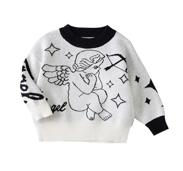 Angel Baby Crochet Holiday Sweater