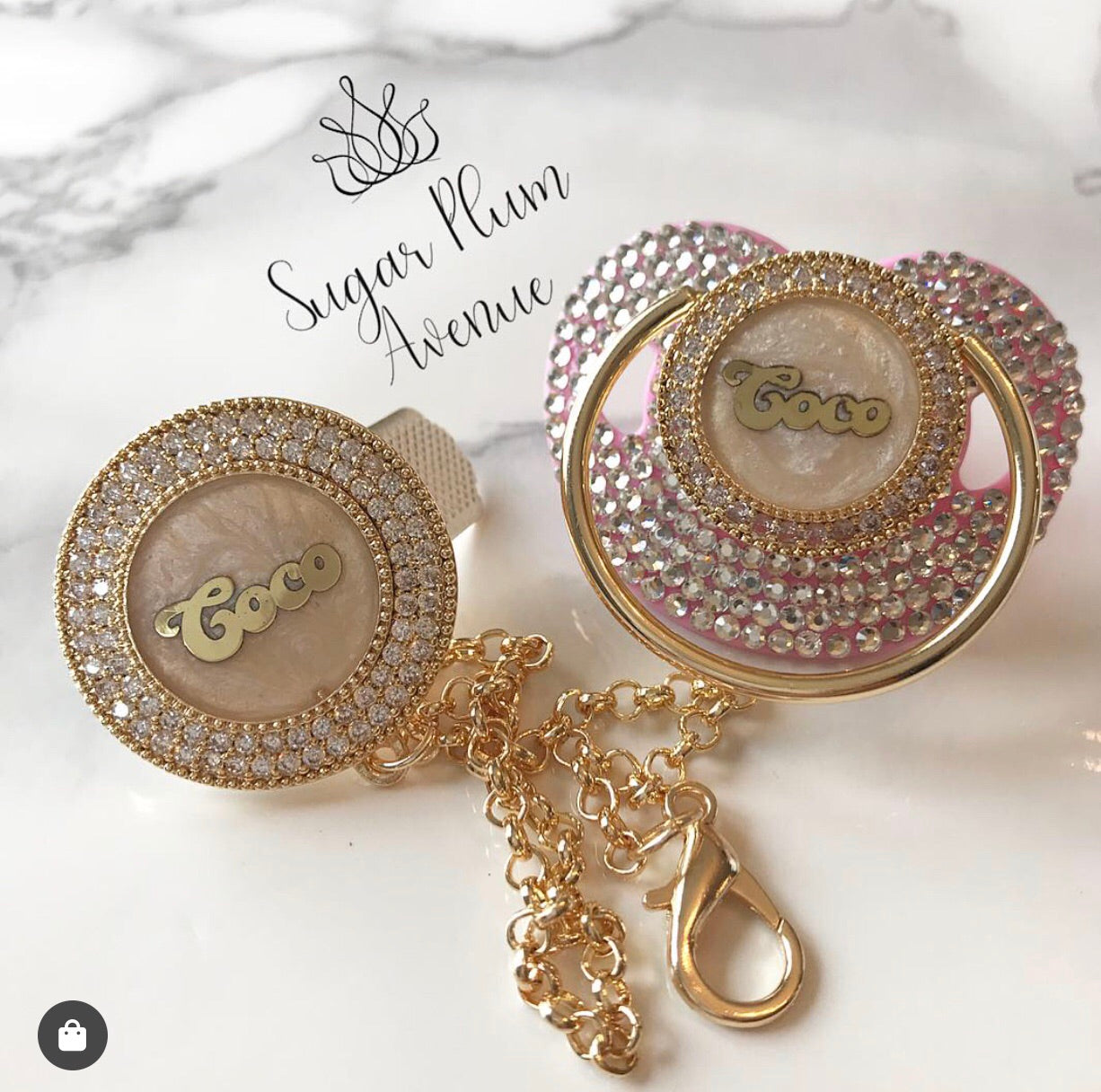 [pacifier_baby products] - Sugar Plum Avenue