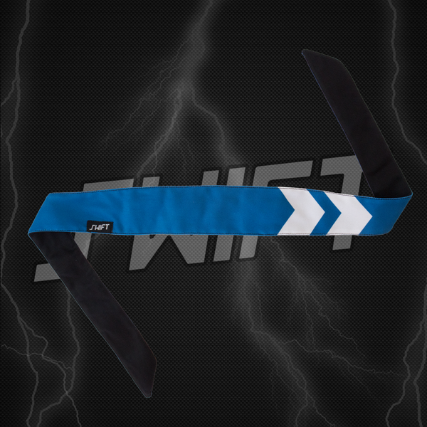 Double Arrows Blue - swiftpb