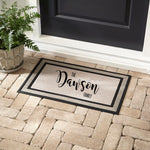 Custom Doormat || Personalized Entry Mat with Name|| Housewarming Gift || Indoor or Outdoor Decor