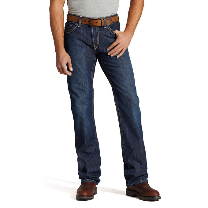 Jean, Ariat M4 Low Rise Bootcut Shale