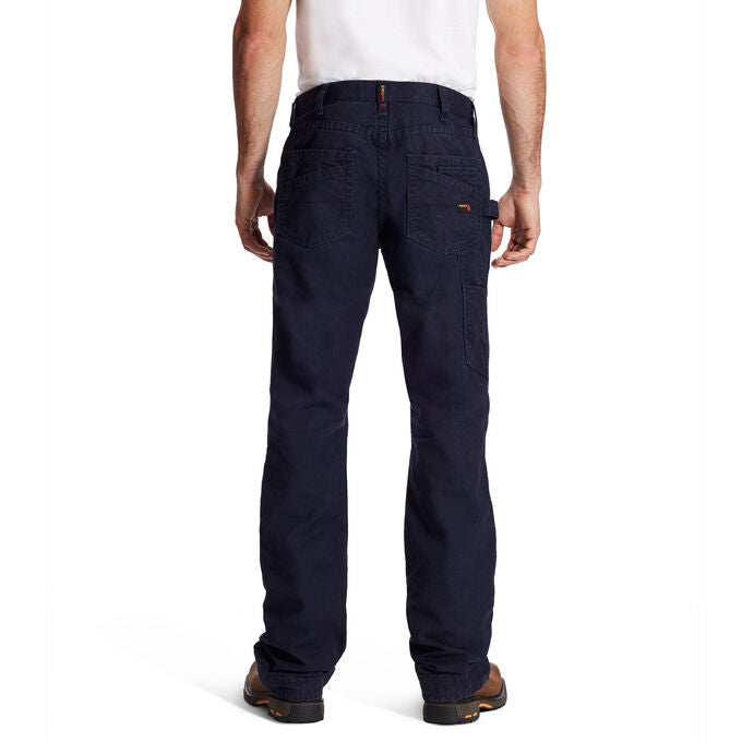 Jean, Ariat M4 Low Rise Workhorse Boot Cut, Canvas Pants Navy #10019623