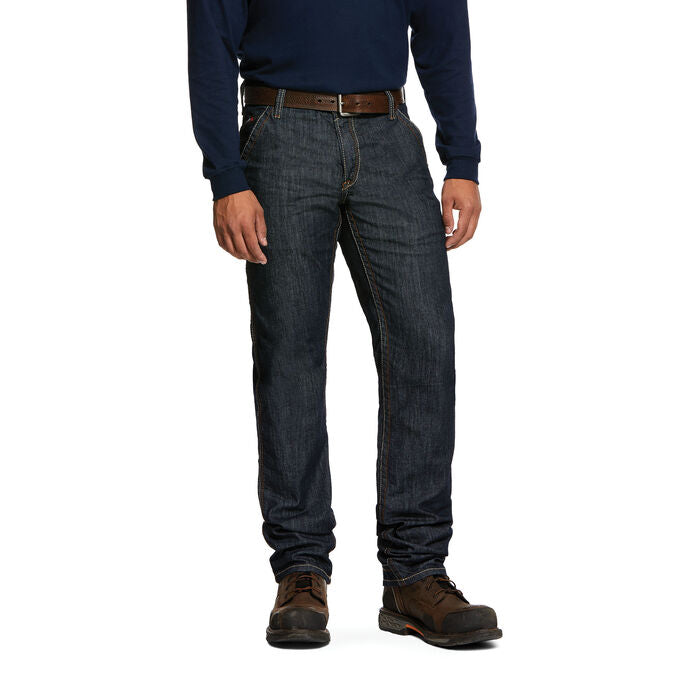 Jeans, 11oz, Ariat M4,  Low rise Duralight  Straight Leg Rinse #10030263