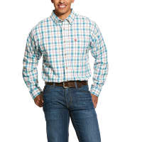 Shirt, FR 7oz, Ariat, Pecos Work Shirt, Multi 10030309