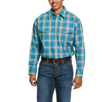 Shirt, Ariat FR- Sanders Snap Work Shirt- Ceramic #10030318