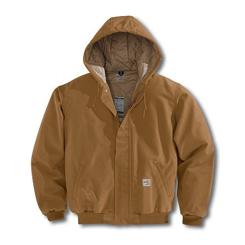 Active Jacket w Hood - FR Cotton