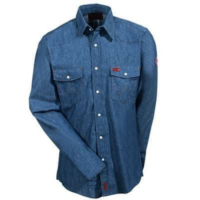 Shirt, FR Cot.  Snap 7.5oz