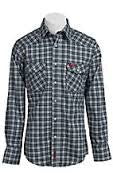 Shirt, FR Snap Plaid 7.5oz