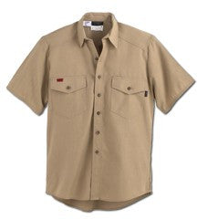 Shirt, Deluxe station wear, SHORT sleeve - Comfort Blend 4.5oz